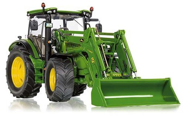 Wiking - WK077344 - John Deere 6125R with Front Loader