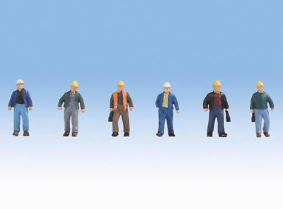 Noch - N15057 - Construction Workers (6) Figure Set