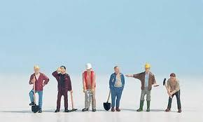 Noch - N15110 - Construction Workers (6) Figure Set