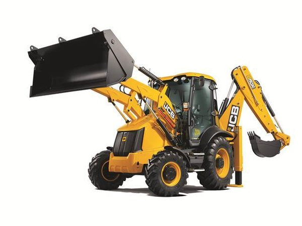 Britains - 42702 - JCB 3cx Backhoe Loader