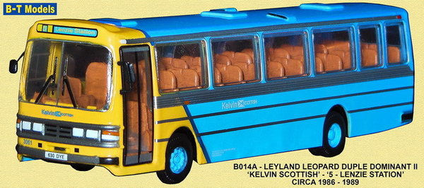 Base Toys - B014A - Leyland Leopard - Kelvin Scottish - Route 5