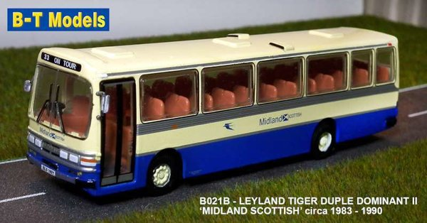 Base Toys - B021B - Leyland Leopard Duple - Midland Scottish - Route 33