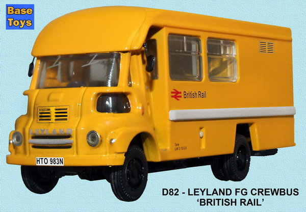 Base Toys - D82 - Leyland FG Crewbus - British Railways