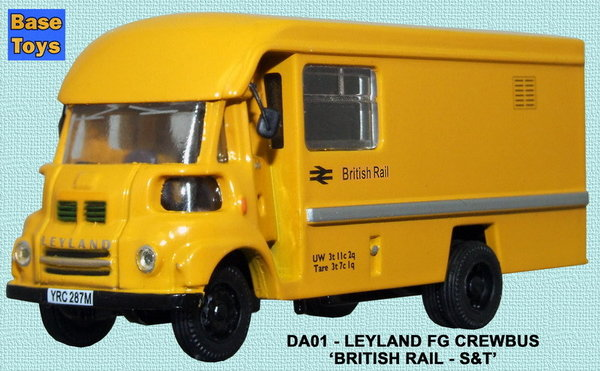 Base Toys - DA01 - Leyland FG S&T Crewbus - British Railways
